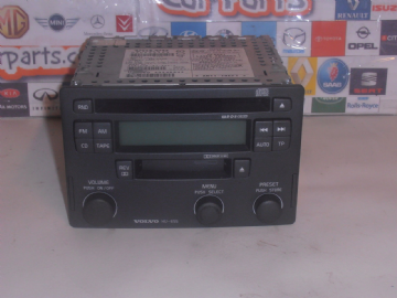 VOLVO S40 V40 96-04 CD PLAYER RADIO TAPE HEAD UNIT HU-655 / P30623403 WITH CODE